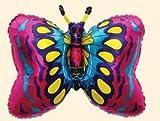 Flexmetal Folienballon Schmetterling mehrfarbig