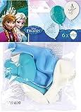 Amscan 999231 - Latexballons Frozen, 6 Stück, Eiskönigin, Luftballons