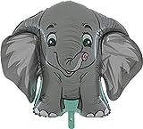 Toyland® 40 'Grey Elephant Character Foil - Kinderpartyballon - Partydekoration