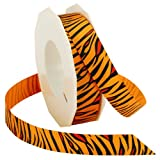 Morex Ribbon Tigerband, 2,2 cm x 20 m, Orange
