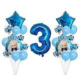 HXLFYM 25 Stücke Boss Baby Digital Confetti Ballon Set Geburtstagsfeier Alles Gute Zum Geburtstag Baby Dusche Dekorationen Kinder Spielzeug Ballons Kinder (Color : 3)