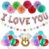 MIK Latex-Ballon, Party, Geburtstag, Dekoration, Hochzeit, Weihnachten, Kinder, Geschenk Air Globos