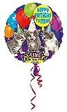 amscan 10118326 Folienballon Sing-A-Tune Happy Birthday, Siehe Abbildung, 71,2 cm (28 Zoll)