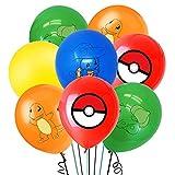 WENTS Luftballons Geburtstag 40 Stück Luftballons Ballons Ballons Latex Luftballons Buchstabenballons Mit Bändern und Transparenten Aufklebern für Geburtstag Dekoration