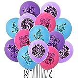 Luftballon Frozen Miotlsy 20 Stück Schneeflocke Party Deko Blau Luftballon Folienballon Dekorationen Party Deko Latex Luftballons Elsa Party Hochzeit Geburtstagsfeier