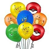 40 Stück Luftballons Geburtstag, Geburtstagsparty Dekoration, Ballon Set, Latex Luftballons, Geburtstagsfeier Dekoration, Wird für Geburtstage und Partys Verwendet (5 Farben)