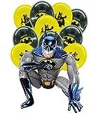 Superhelden Party Avengers Luftballons Party Deko Geburtstag Junge Batman Marvel Luftballons Avengers Ballons Folienballon Geburtstag Batman Aluminium Ballon Party Dekoration Kindergeburtstag Deko Set