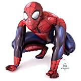 Spiderman Airwalker Lebensgroß Folien Helium Geburtstags Party XL Ballon