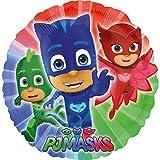 paduTec Folienballon - PJ Masks - Pyjamahelden Ballon Rundballon Luftballon Kinderballon Geburtstag Kindergeburtstag Geschenk Überraschung - geeignet zur Befüllung mit Luft oder Helium Gas