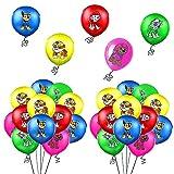 Geburtstag Deko Ballon, 40 PCS Luftballon Party Deko, Kindergeburtstag Luftballons Dekoration Set Für Patrouillieren Thema Party