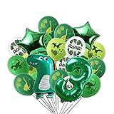 Luftballons Geburtstag 3 Jahr, Dino Geburtstag Dekorationen Junge luftballon,Party boy Geburtstag number deko Kinder,Riesen Folienballon Zahl 3, Geburtstag Ballons für Partyzubehör