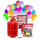 Party Factory Ladenburg Helium Flasche inkl. 50 Luftballons