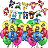 Geburtstagsdekoration, Luftballons für Geburtstagsfeiern, Dekoration für Partys, Geburtstagsdekoration, Geschenk für Kinder, 21 Stück