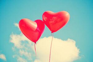 Herzluftballons – Der richtige Einsatz von Herzluftballons