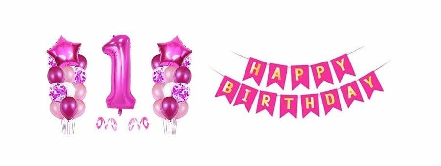 Folienballons Geburtstag