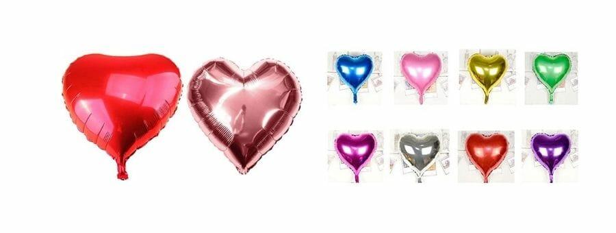 Folienballons Herz