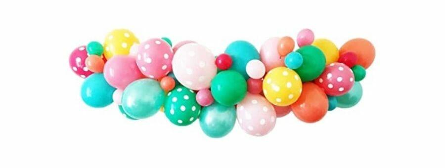 Folienballons für Partys und Feste