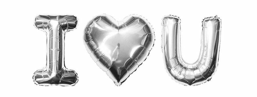 Folienballons Helium