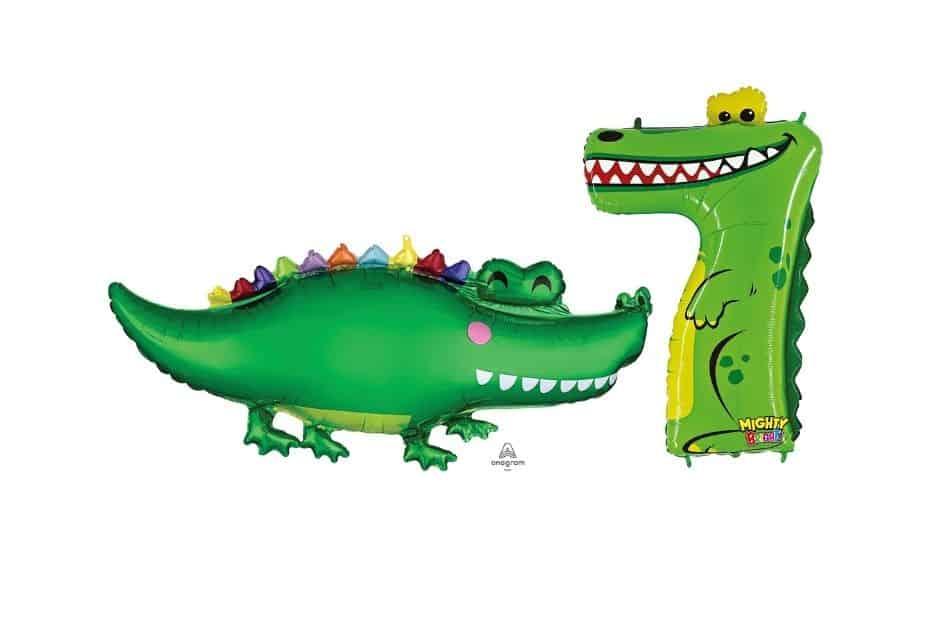 Luftballons Krokodil