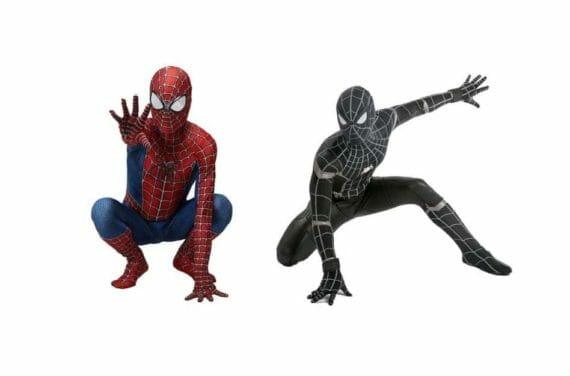 Spiderman-Kostüm für Kinder